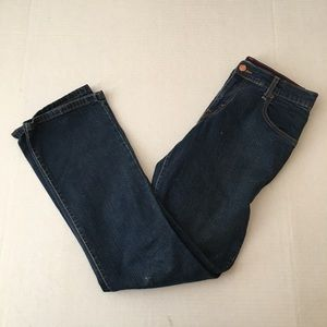 Levi's Relaxed Boot Cut 550 Size 4M Jeans Denim